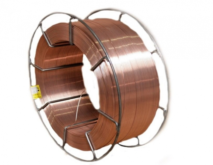 The low-carbon steel electrode coppered wire